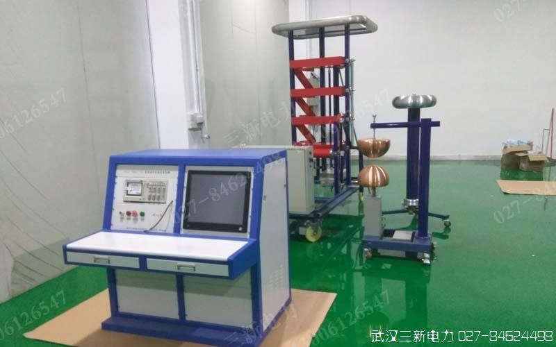冲击电压发生器控制部分正待验收