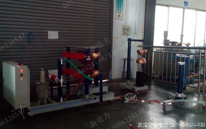 冲击电压发生器操作方法培训现场图